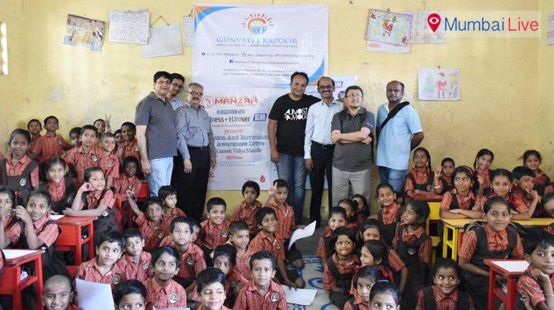 धारावीत 'शिक्षण आणि पर्यावरण' उपक्रम