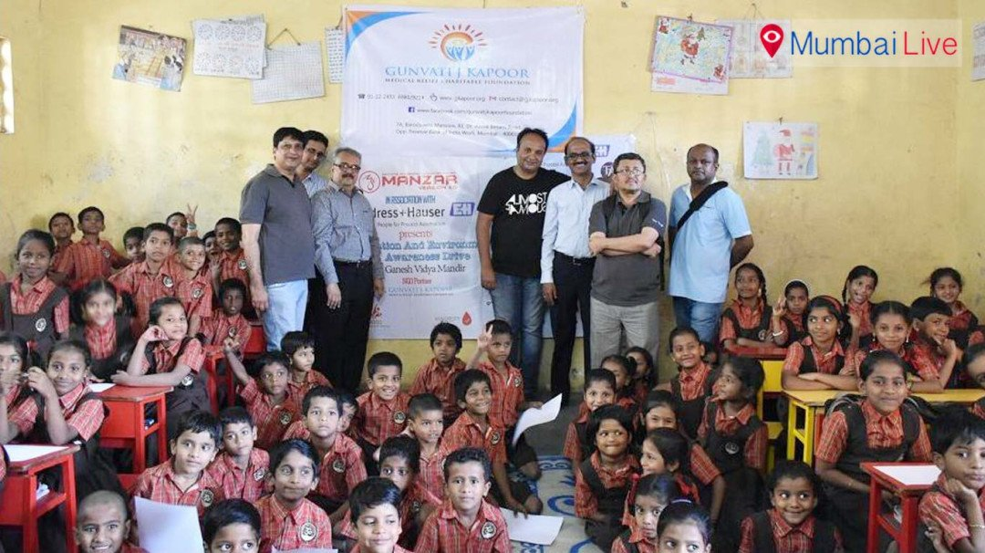 Education and Environment Awareness Drive for students