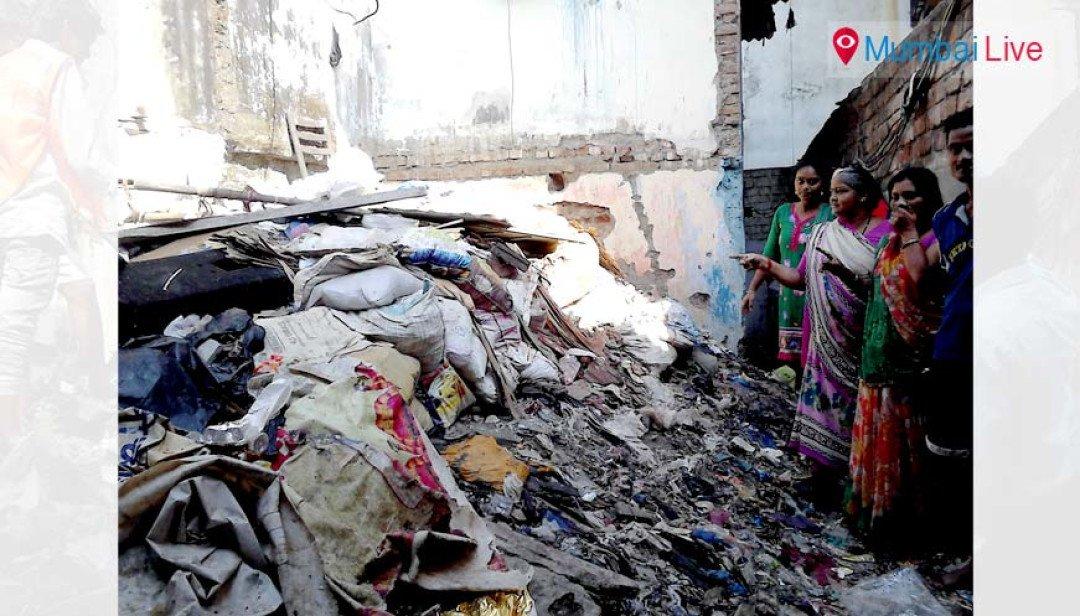 BMC clears Dharavi mess
