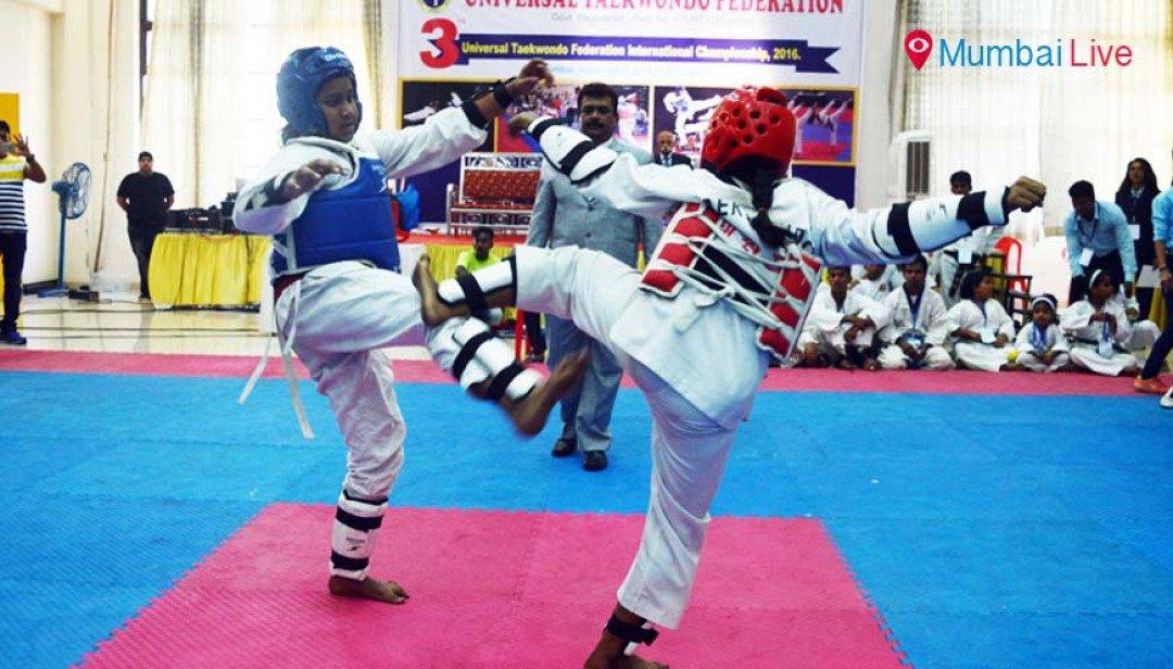 तायक्वांडो स्पर्धा में महाराष्ट्र का दबदबा