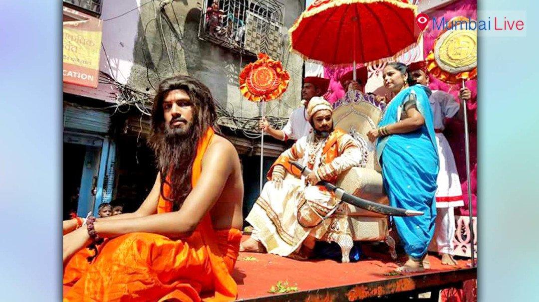 Maharashtra Sanskrutik Utsav carries out shobha yatra at Dharavi