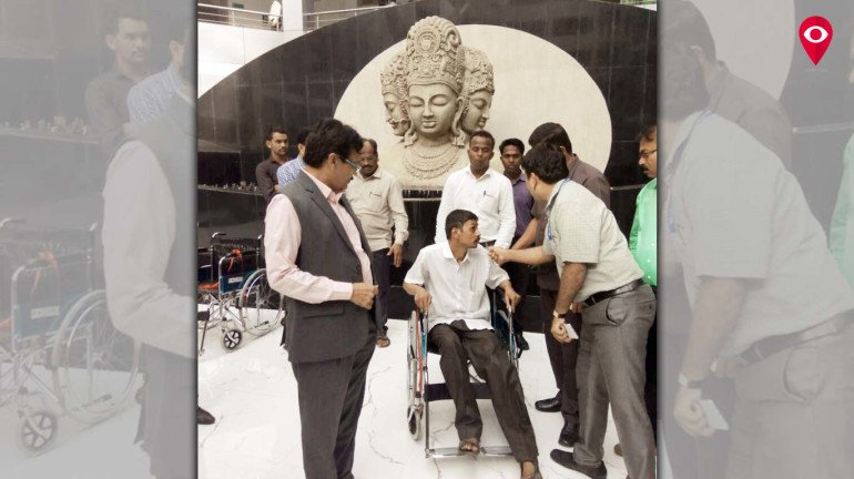 Mantralaya turns friendly for differently abled again