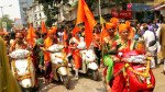 Women bikers enjoy Gudi Padwa procession in Dongri