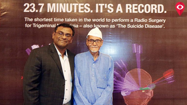 विक्रमी २३ मिनिटांत केली 'रेडिओलॉजी सर्जरी'
