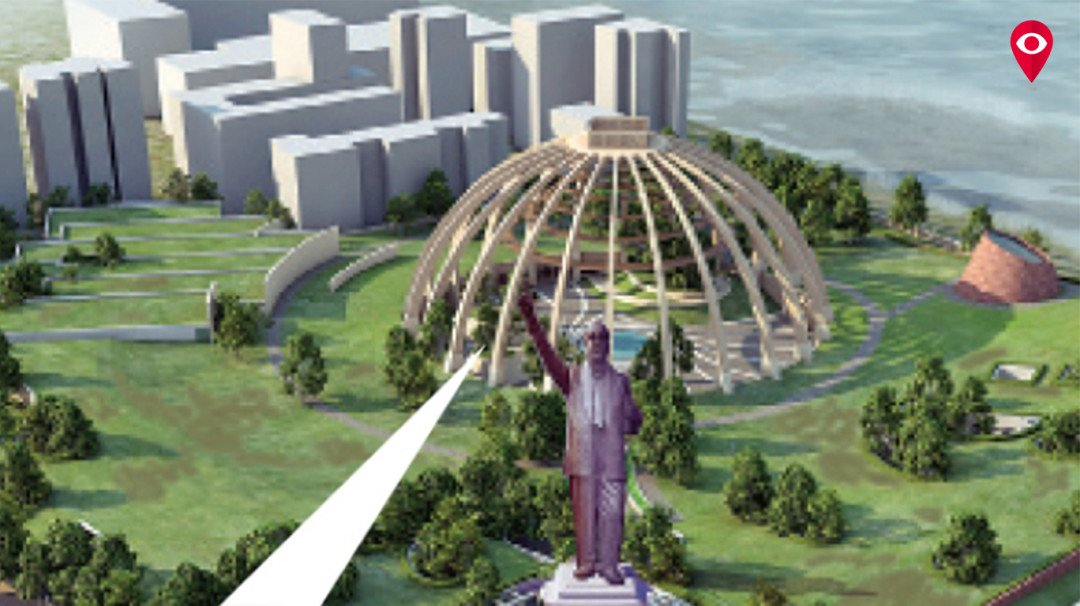 Tender released for Dr Ambedkar memorial, budget increased