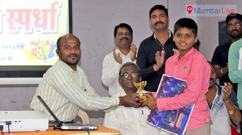 Students shine in Drawing competition