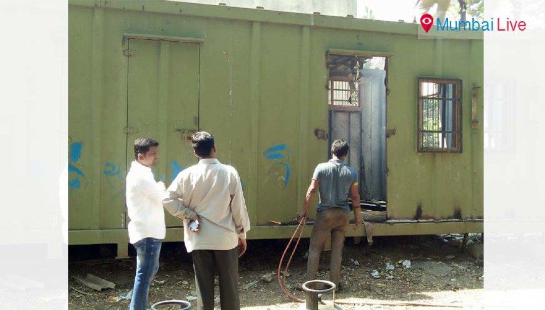 Den of drug addicts, drunkards destroyed