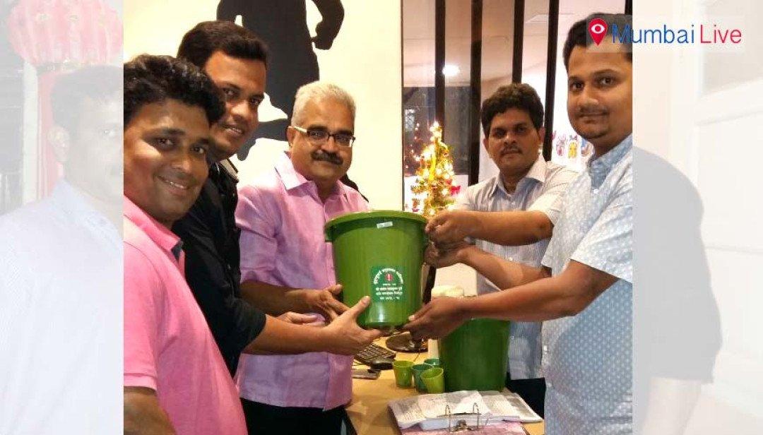 MNS distributes free dustbins