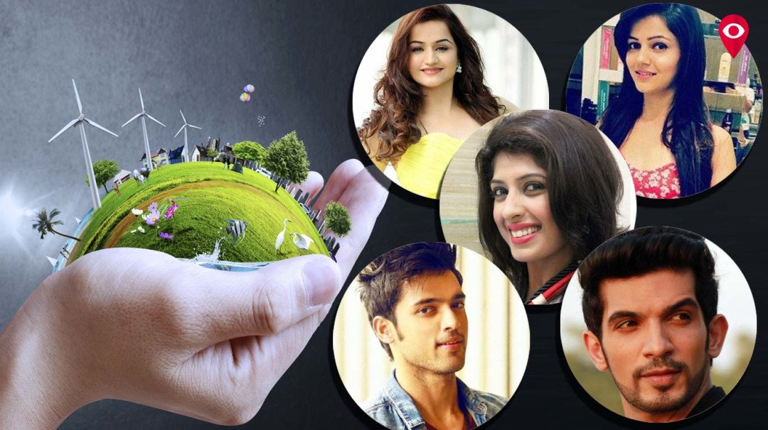 TV celebs urge to make earth a better place, together with fans