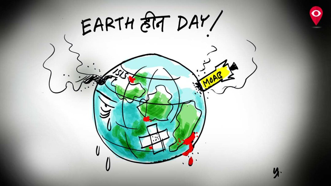 47th Earth Day and yet we live in such an unearthly way