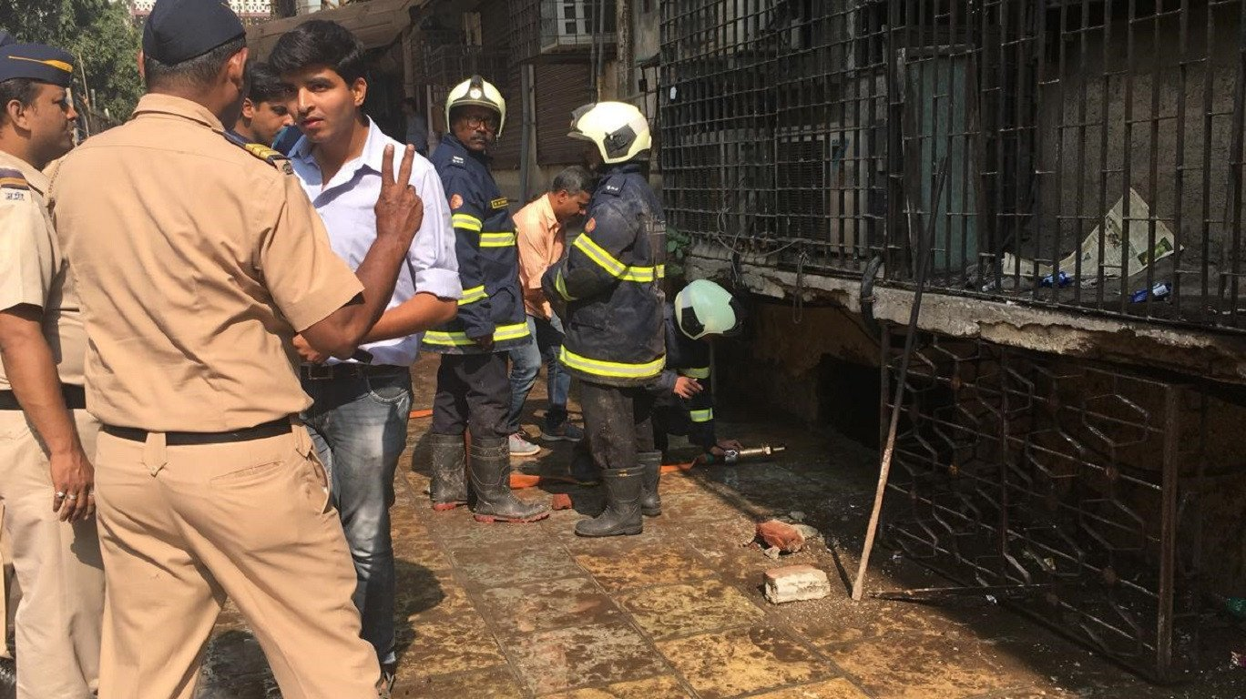 Another Fire Breaks Out At Mumbai's Nagpada Apartment