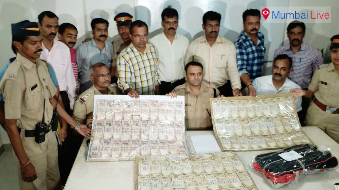 Mulund police seize old denominations worth 1 crore