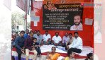 Corporator, residents on indefinite fast