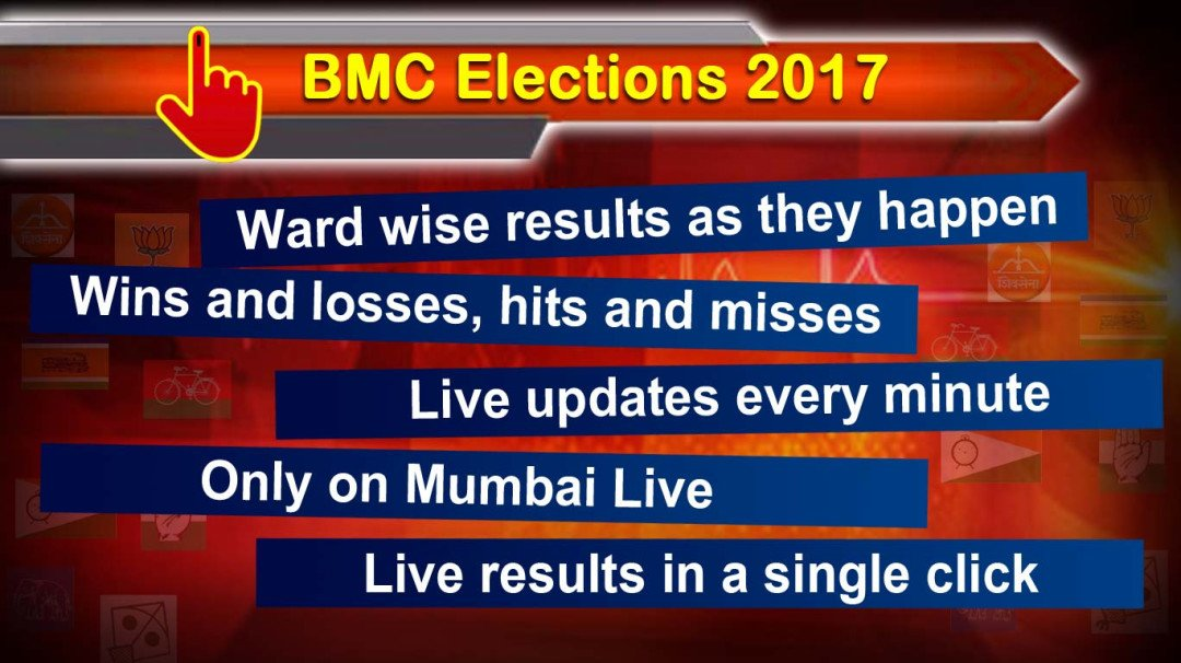 Live updates of BMC election results