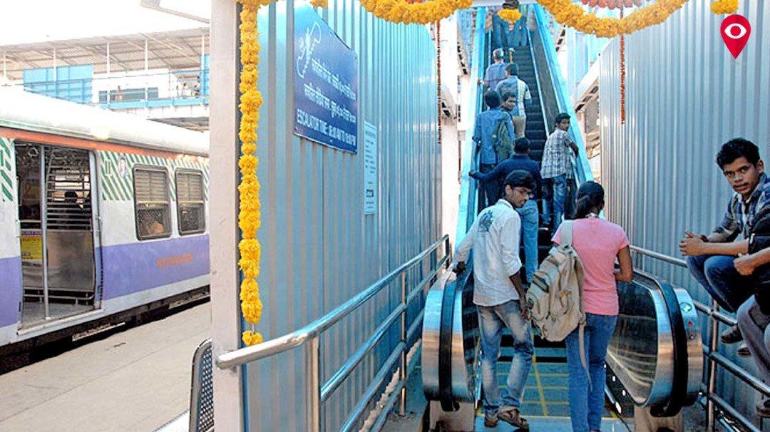 मुंबई उपनगर रेलवे को मिलेगी 30 नए स्वचलित सीढ़ियां