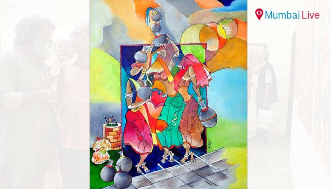Painting exhibition at Kohinoor Continental
