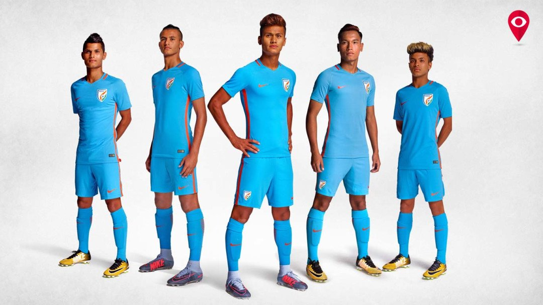 Team India gets a new look as Nike launches the new football kit