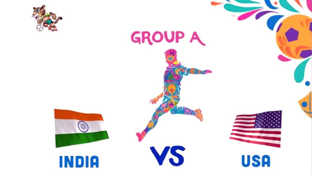 FIFA U-17 World Cup : अमेरिका ने भारत को 3-0 से हराया