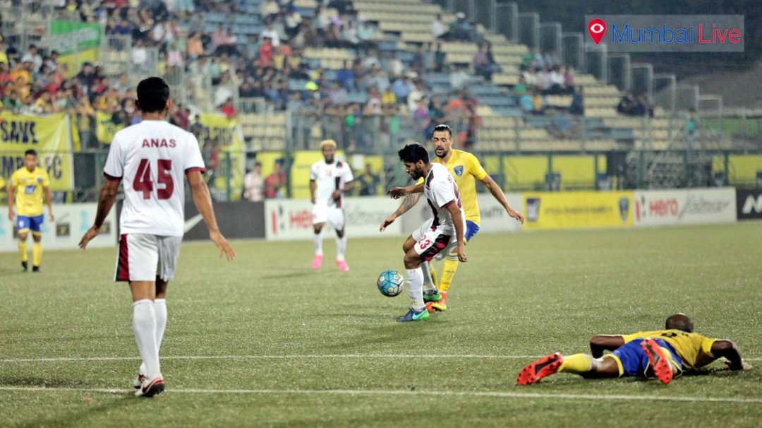 Mumbai FC let mighty Mohun Bagan off the hook, settle for goalless draw