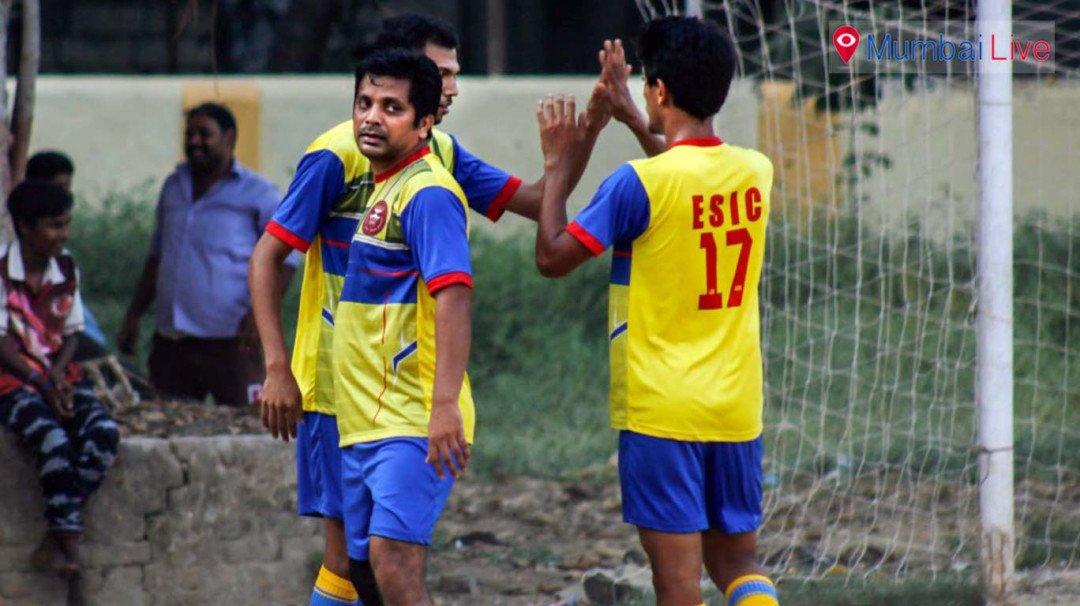 ESIC win football title
