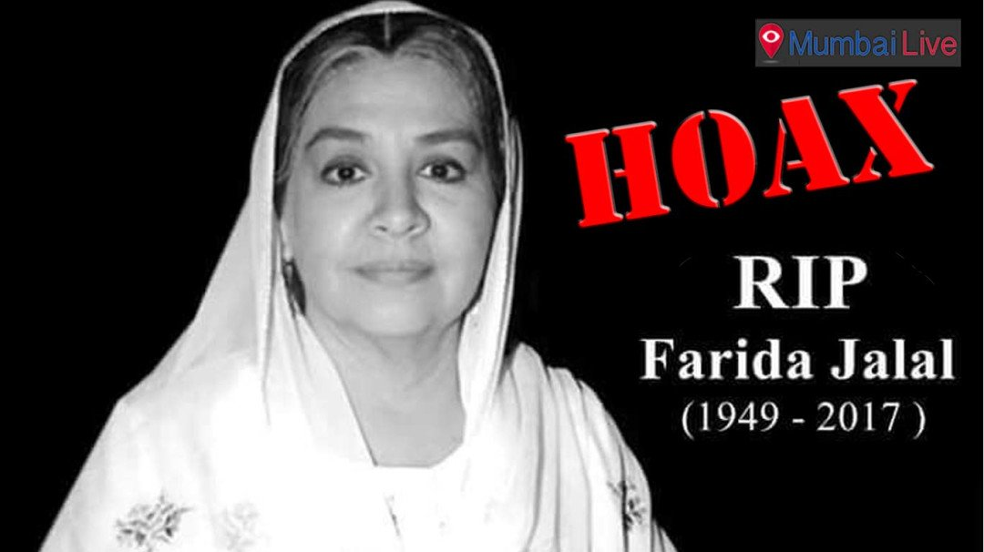 Social media buzzes with rumours of Farida Jalal's death