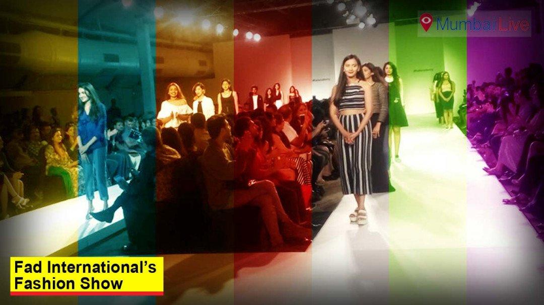 FAD International's fashion show