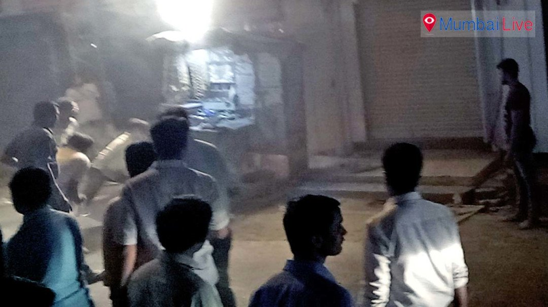Electric meter box in Kurla goes up in flames
