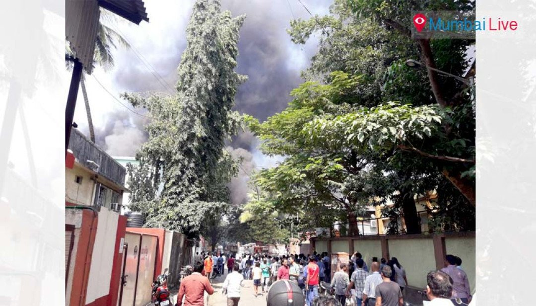 Fire broke out at Kandivali's illegal factories