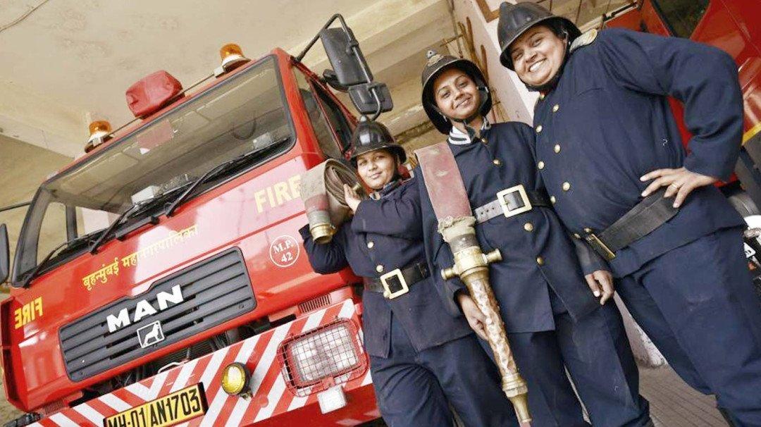 Mumbai's fire brigade recruits 97 young women from rural India
