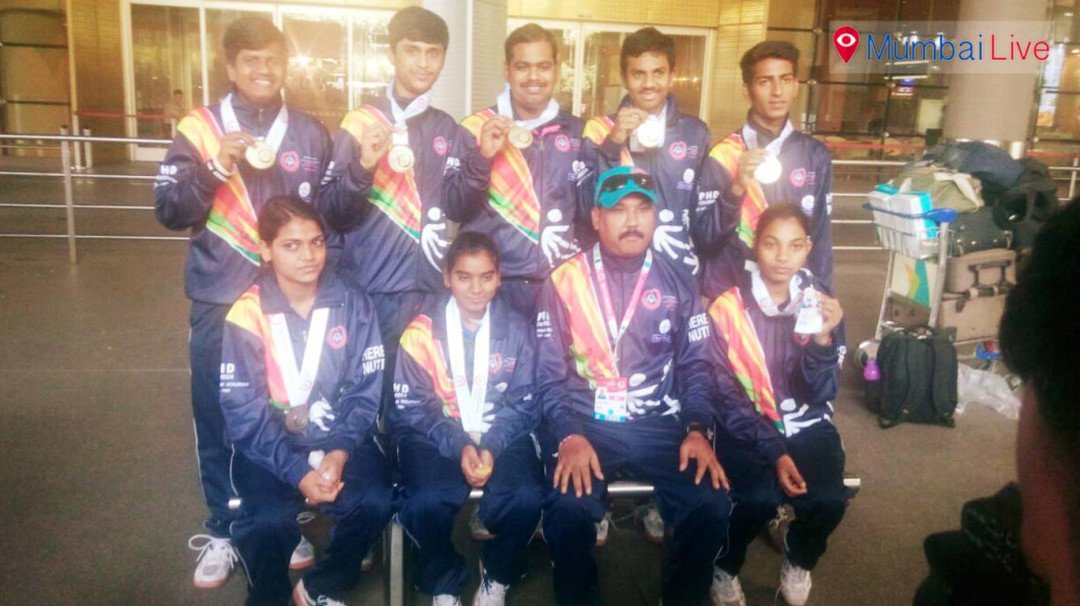 India Men's floor hockey Team wins gold at the Special Olympics World Winter Games