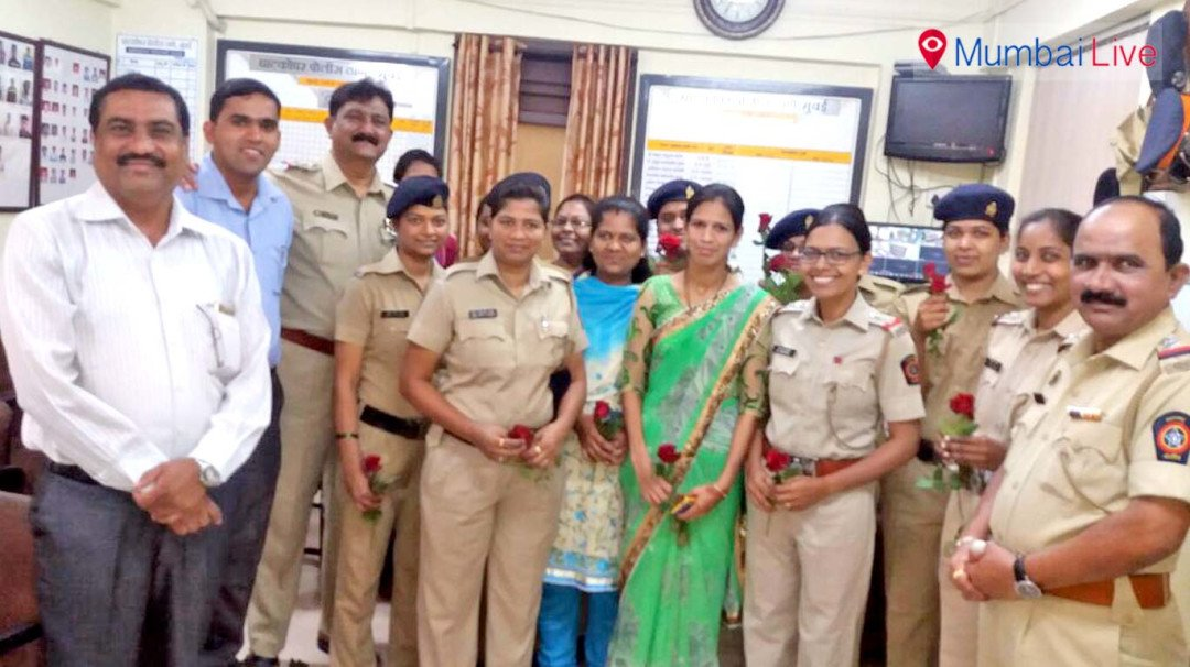 Ghatkopar police honors women officers