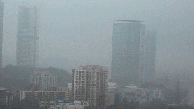 मुंबई मे 'स्माॅग' चल रहा है?
