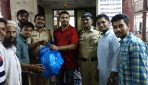 Food packets for Police officials