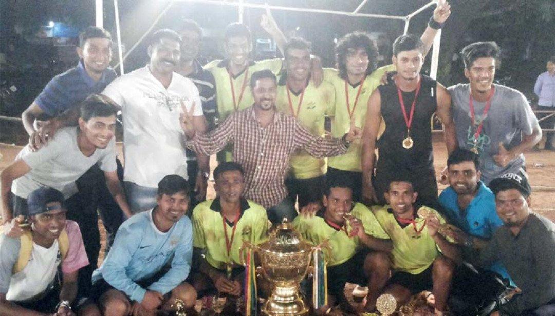 Viru Boyz wins Football Tournament