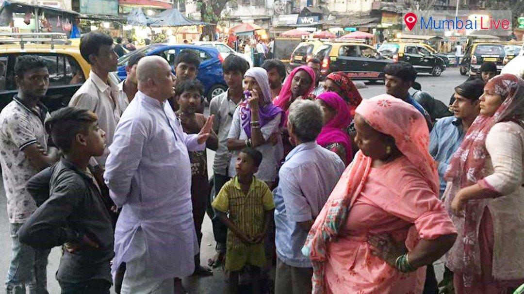 भायखला रेलवे परिसर अवैध विक्रेताओं से होगा मुक्त