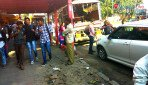 BMC superactive against encroachment on pavements