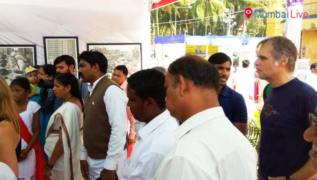 Foreigners flock to Chaitya Bhoomi