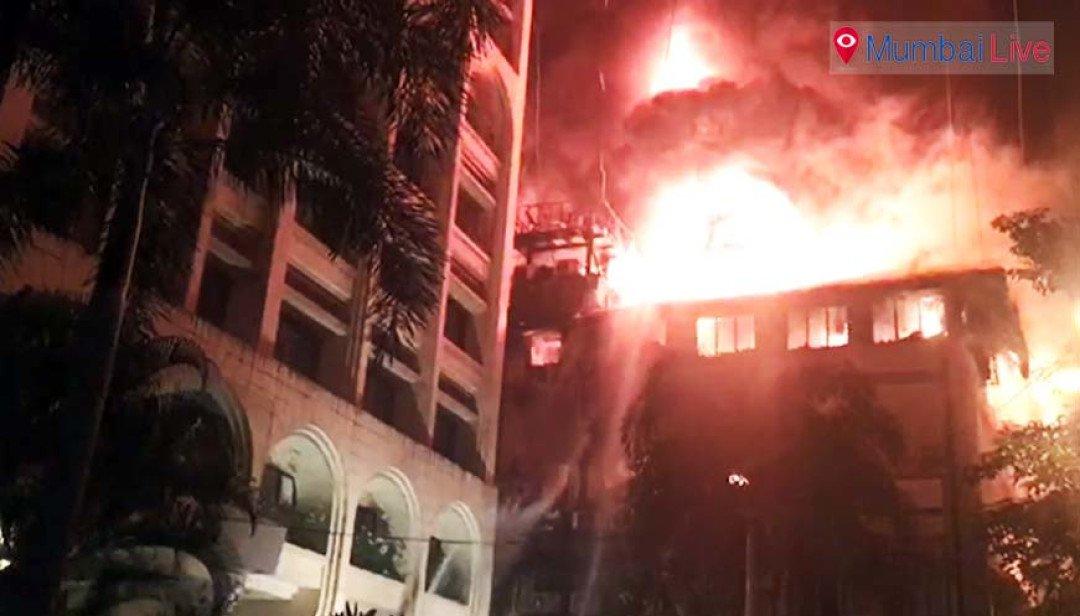 Big blaze at Fort