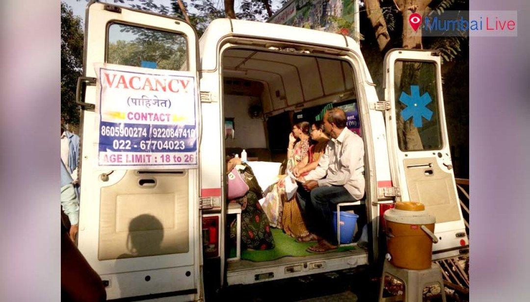 Mobile Health van for residents