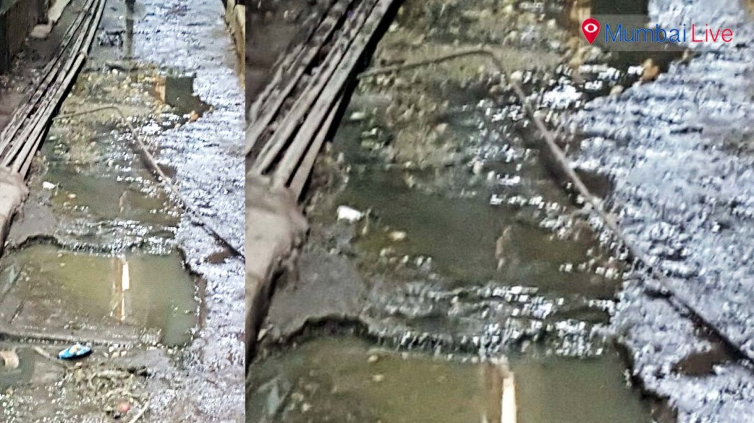 कांदिवलीत गटाराच्या पाण्यामुळे स्थानिक त्रस्त
