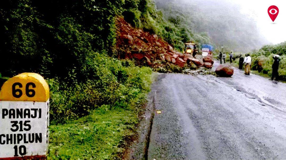 गणपतीपूर्वी मुंबई-गोवा महामार्गाची दुरुस्ती - चंद्रकात पाटील
