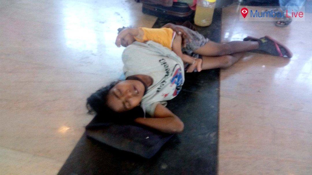 तीन दिन भूख से तड़पती रही महिला