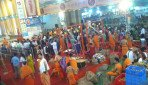 Thousands of devotees visited GSB Mandal