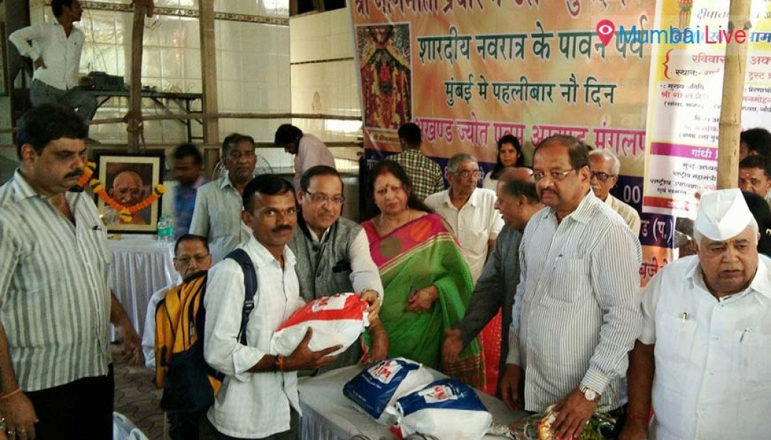Needy, Divyangas served food to mark Diwali