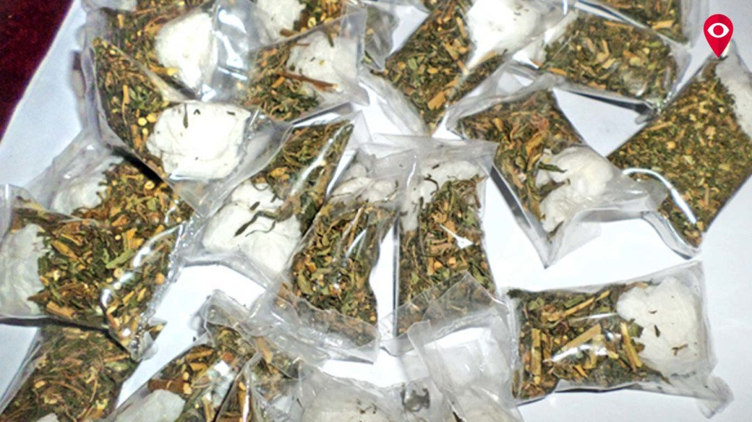 18 packets of weed seized at Churchgate