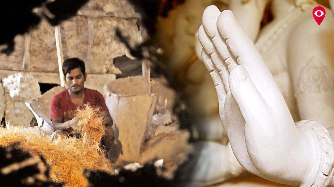 गणपति बाप्पा को बनाते हैं बिहारी हाथ!