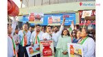 Mumbai Congress protests against hike in LPG