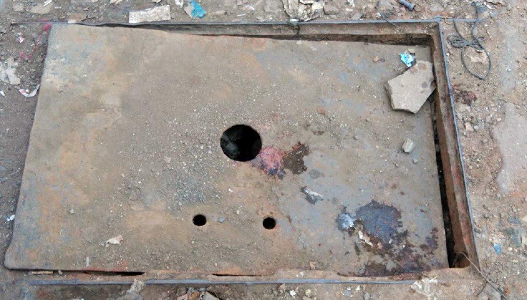 Open gutter causing nuisance