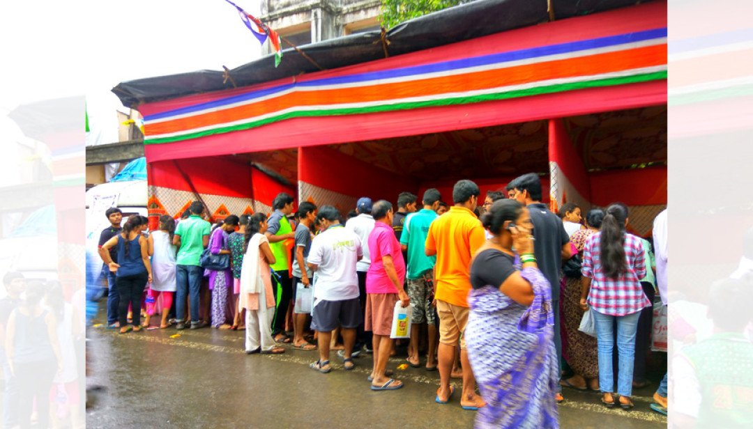 MNS distributed ration cards