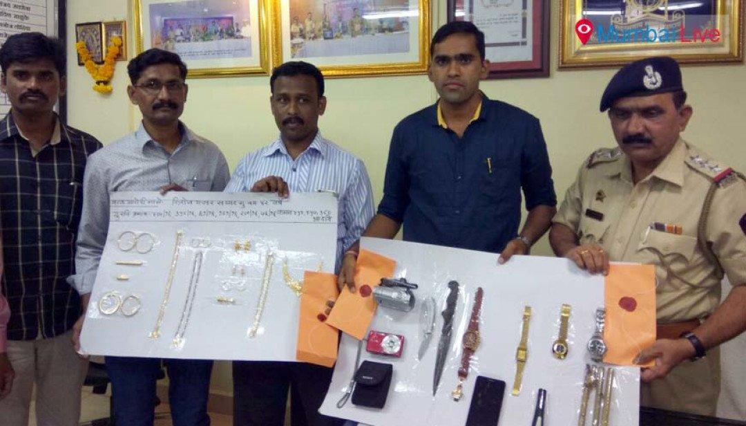 Ghatkopar police nab thief